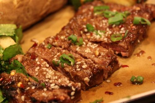 {asian marinated steak}