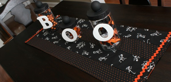 {Halloween Table Runner}
