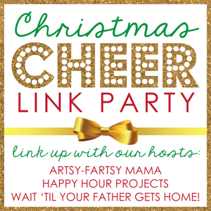 Christmas cheer link party wait til your father gets home
