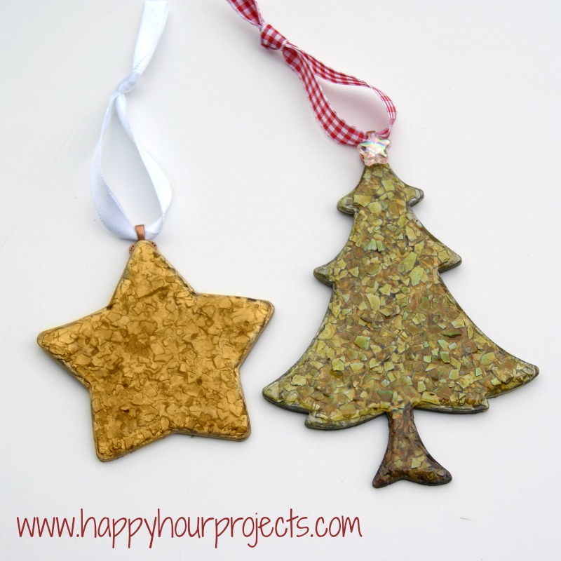 Personalized Mod Podge Ornaments from Simply Kierste