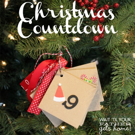 Christmas Countdown on Envelope Countdown Wait Till Your Father Gets Home    The Csi Project