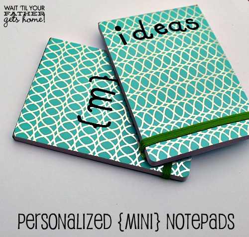Personalized Mini Notepads2