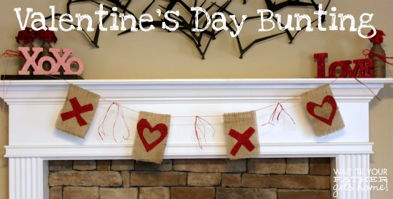 Valentine's Day Bunting 2