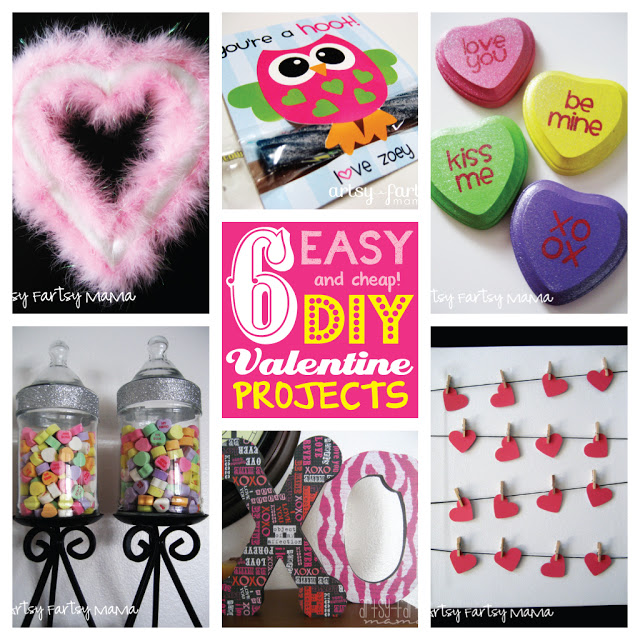 6 Valentine Projects