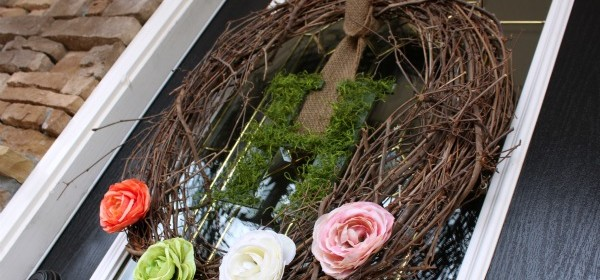 {Spring Grapevine & Moss Wreath}