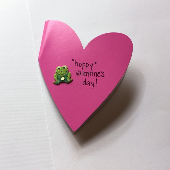 hoppy valentines day card