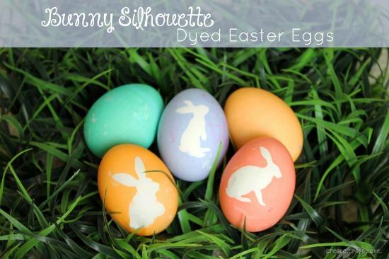 Bunny Silhouette Eggs