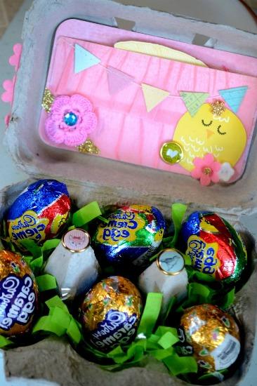 Egg Carton Basket