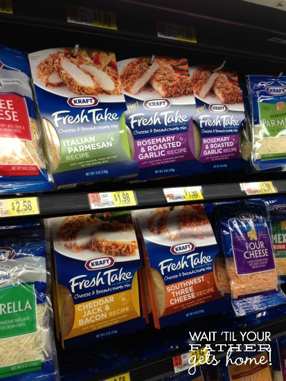 Kraft Fresh Take Kit @ Walmart  #FreshTake #cbias