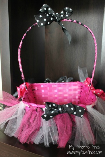 Minnie Mouse Basket
