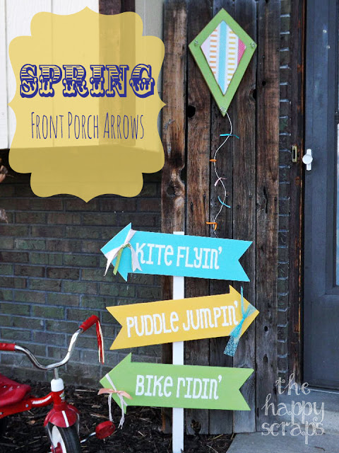 Spring Front Porch Arrows
