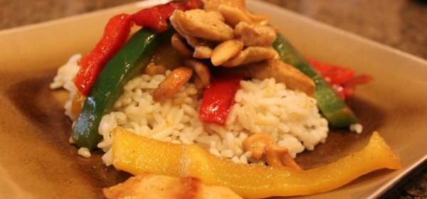 {Cashew Chicken Dijon}