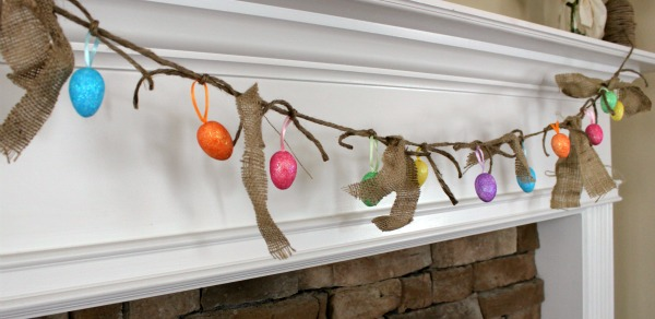 {Easter Egg Garland & Mantel}