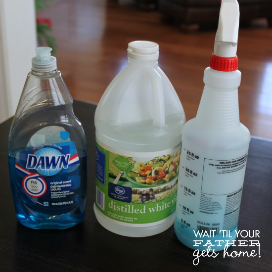 Diy shower cleaner wait til your father gets home for Vinegar bathroom cleaner