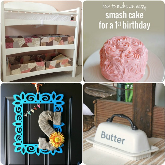 10 Fun Projects for the Weekend via createcraftlove.com #features #linkparty