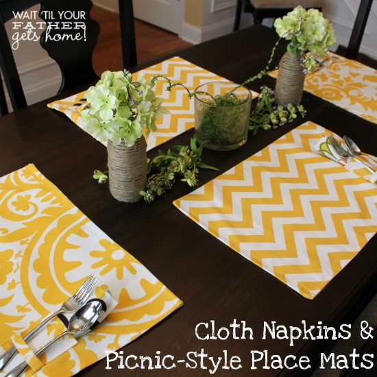 Cloth Napkins & Place Mats