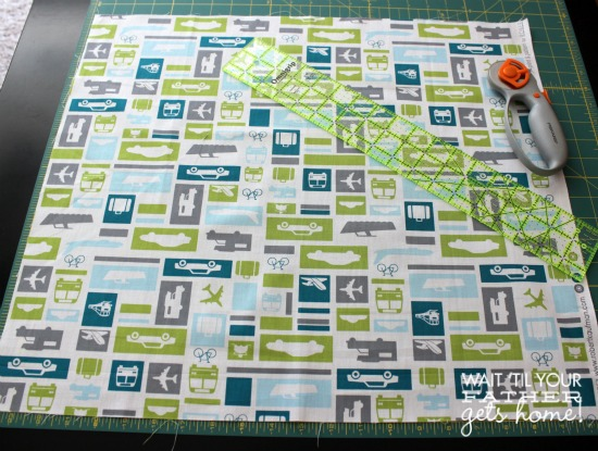 Learn how to cut and plan a quilt with Wait Til Your Father Gets Home #quiltalong2013 #quilting #sewing