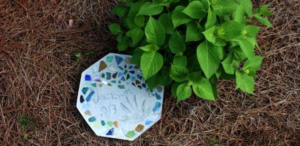 Mosaic Tile Stepping Stone
