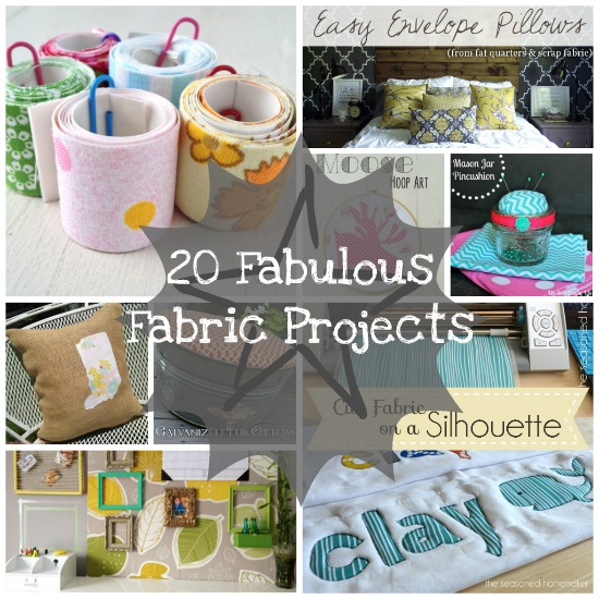 20 Amazing Fabric Ideas via createcraftlove.com #fabric #features