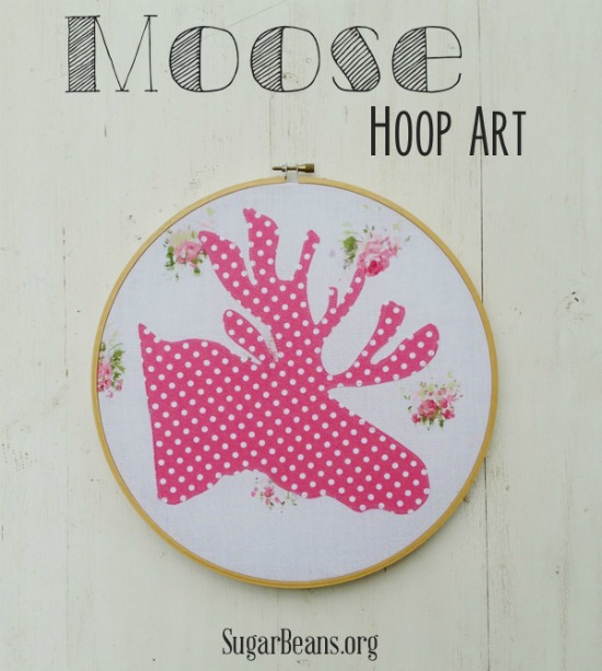 Moose Hoop Art