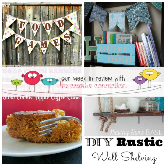 The Creative Connection Link Party Weekly Review
