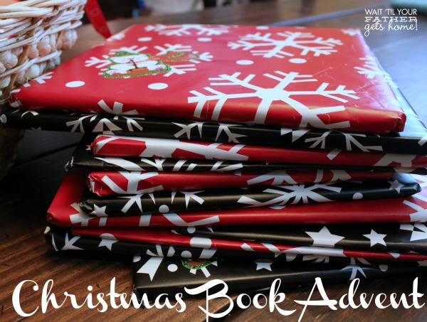 Christmas Book Advent for kids with 25 picture books to be opened each day leading up to #Christmas! #kids #books via www.waittilyourfathergetshome.com