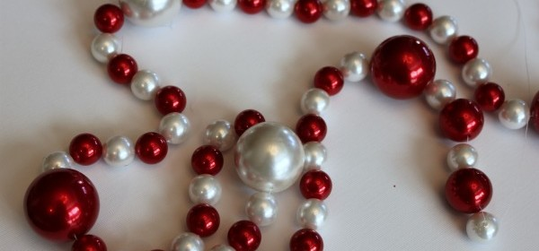DIY Beaded Garland
