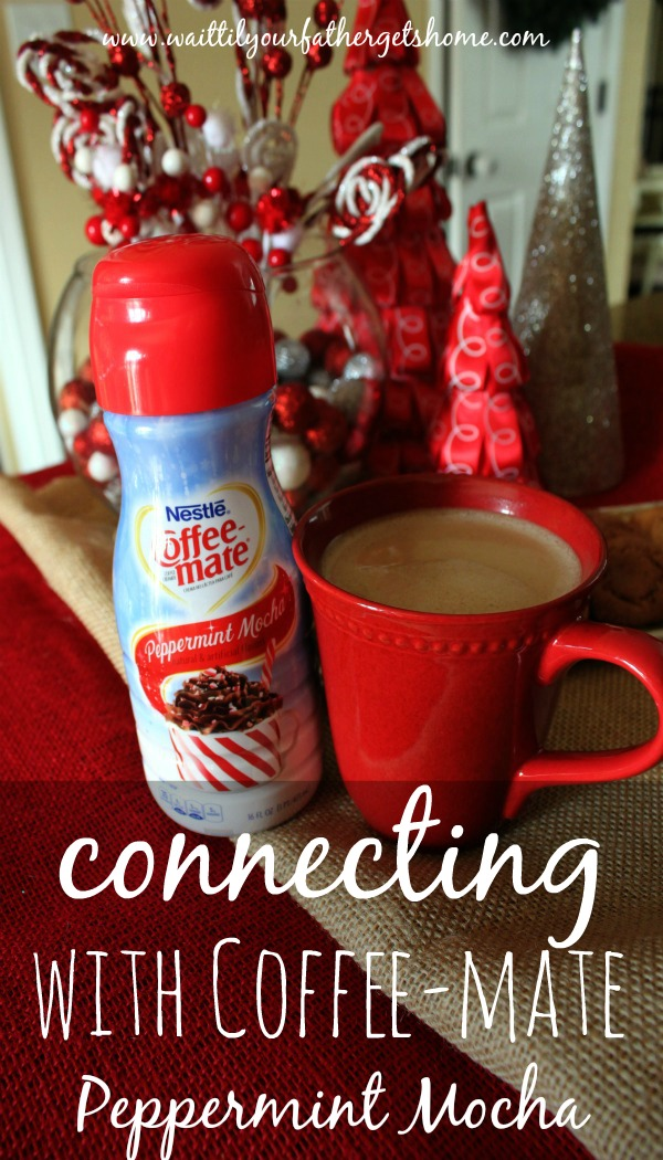 Enjoy your coffee this season with Peppermint Mocha by Coffee-mate and #loveyourcup #shop #cbias via www.waittilyourfathergetshome.com