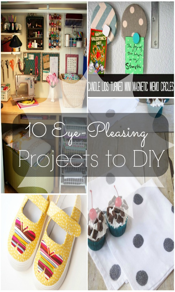 10 Eye-Pleasing Projects to DIY via Wait Til Your Father Gets Home #features #diy #decor
