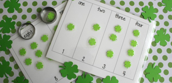 Shamrock Number Matching & a Flash Giveaway