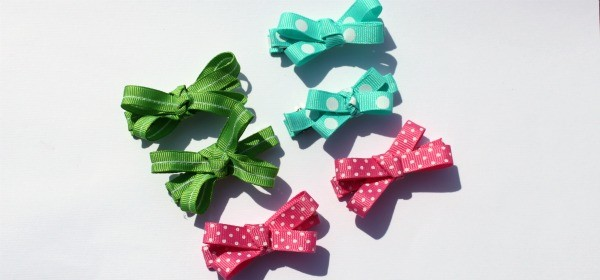 Mini Hair Bow Tutorial