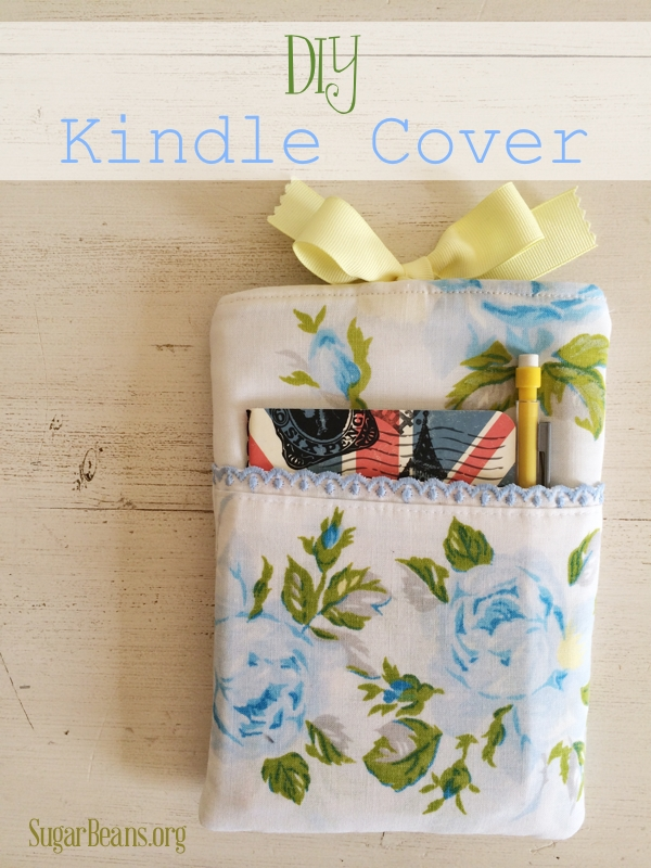 DIY kindle case tutorial. SugarBeans