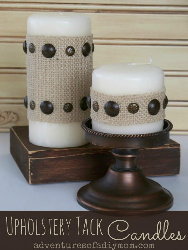 Upholstery Tack Candles (52)