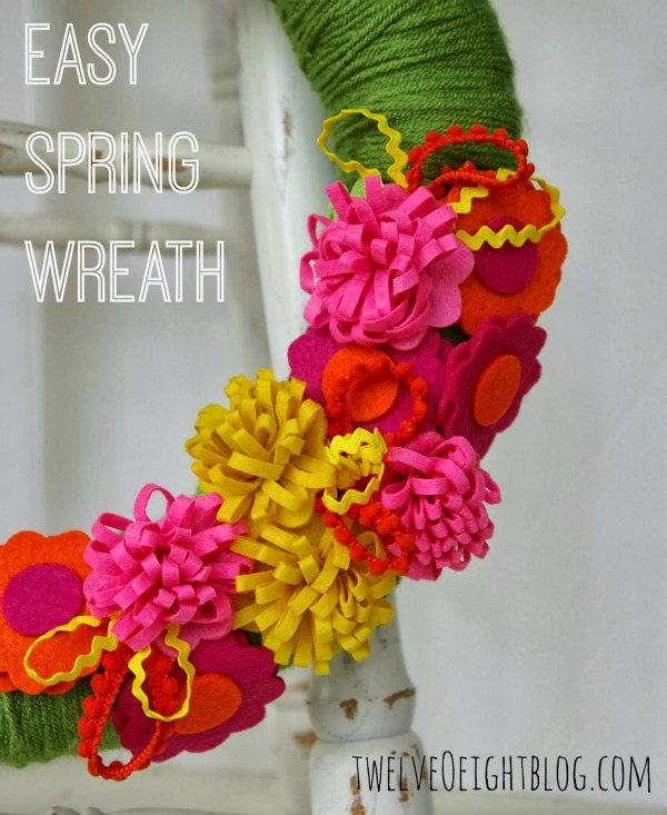 easy spring wreath 2