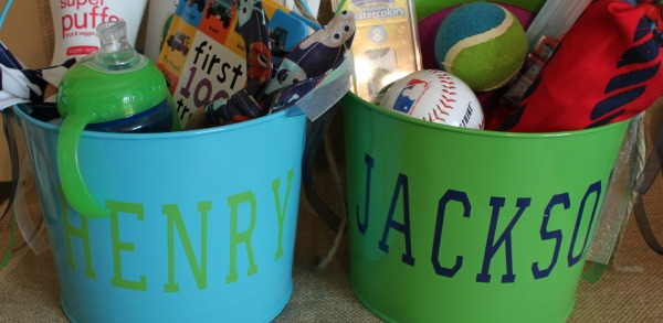 DIY Easter Buckets