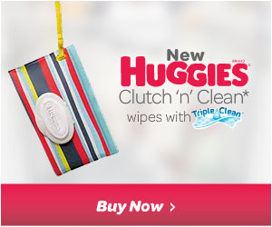 Huggies Clutch n Clean