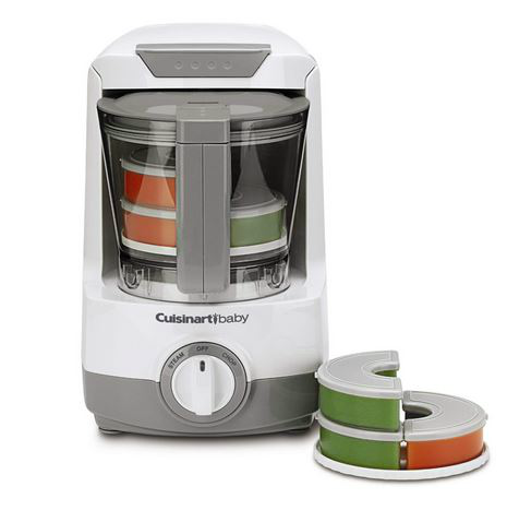 Make homemade baby food for your little ones the easy way, with the Cuisinart Baby Food Maker #HomemadeBabyFood #Cuisinart #sp