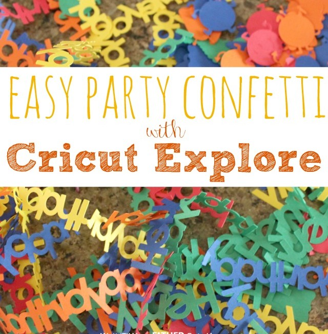 Easy Party Confetti