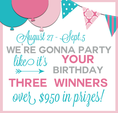 Big Birthday Giveaway