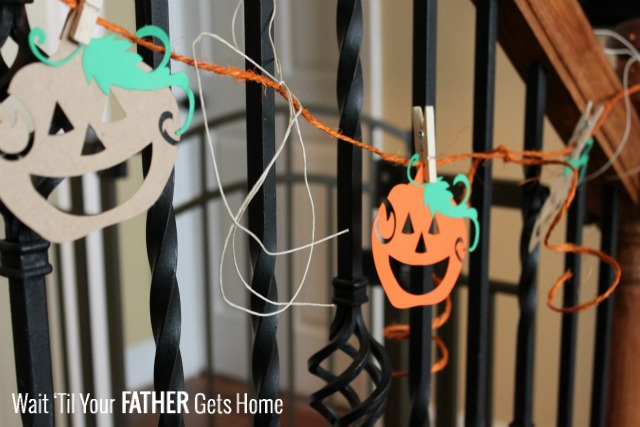 Halloween Giveaway and Pumpkin Garland