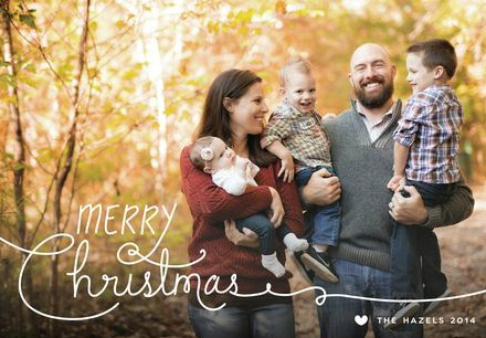 Christmas Photo Cards with Minted by Wait 'Til Your Father Gets Home