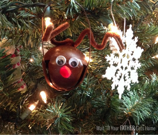 Rudolph Jingle Bell Ornaments & Neighbor Gift Blog Hop