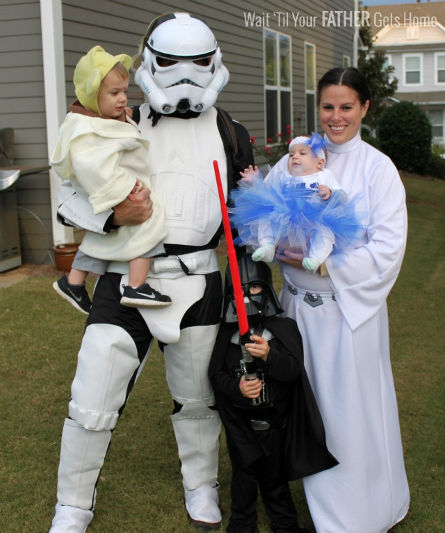 star wars family via Wait 'Til Your Father Gets Home