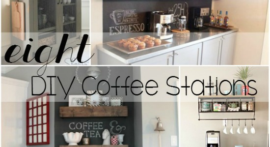 8 DIY Kitchen Coffee Stations