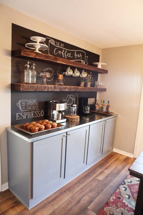 8 Diy Kitchen Coffee Stations Wait Til Your Father Gets Home