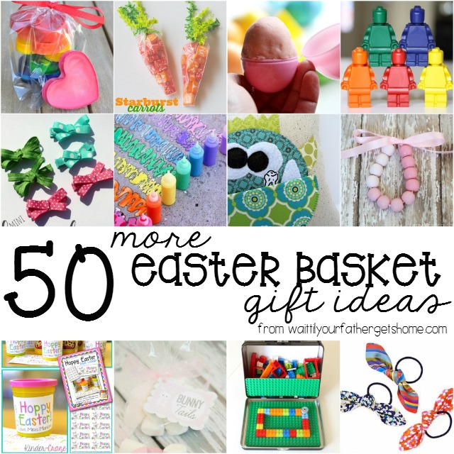 50 more easter basket gift ideas wait til your father gets home 50 more easter basket ideas from wait til your father gets home easter easterbasket negle Choice Image
