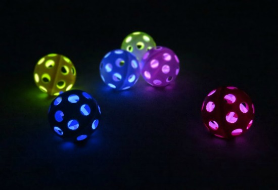Glow in the Dark Wiffle Balls | Smart School House Book Review