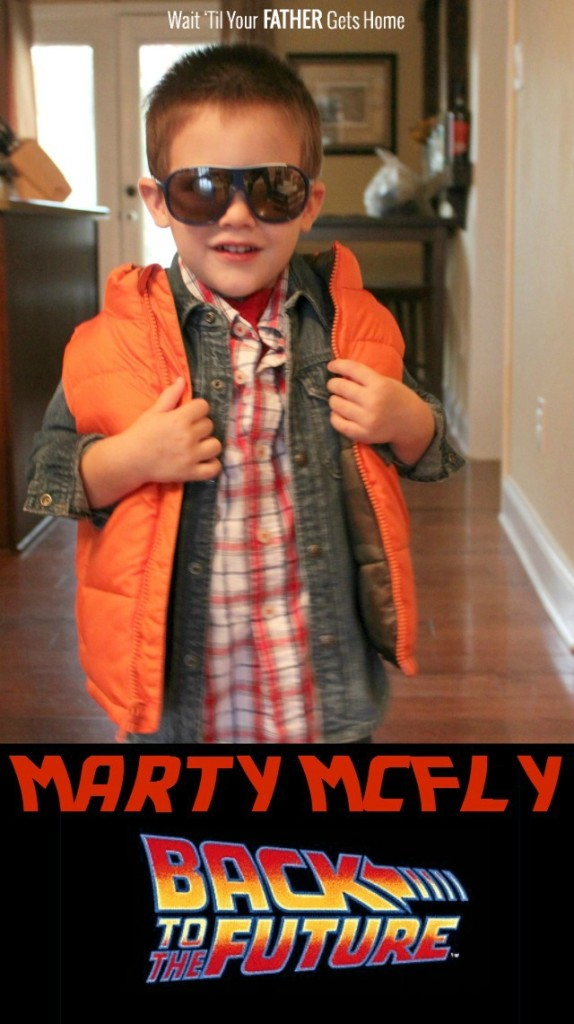 Marty McFly Costume via Wait Til Your Father Gets Home