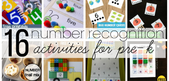 Number Recognition Ideas | Pre-K Math