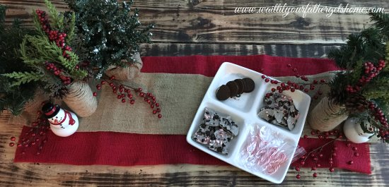 Oreo Candy Cane Bark | Easy Party Tips